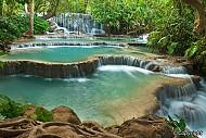 Khám phá vẻ đẹp thác nước đẹp nhất Luang Prabang