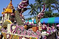 Lễ hội hoa đầy sắc màu tại Chiang Mai
