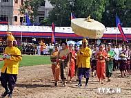 Toàn cảnh lễ Vua đi cày tại Campuchia