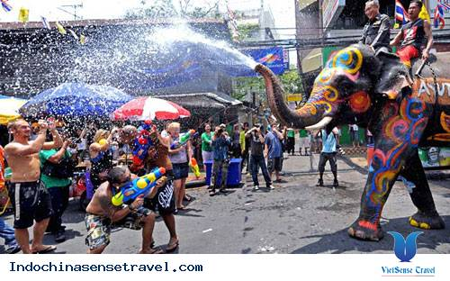 5 điểm đến tuyệt nhất ở Thái Lan vào lễ hội té nước Songkran