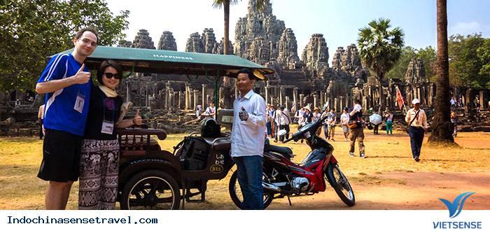 Cấm xe đường chính phía trước di tích Angkor Wat của Campuchia,cam xe duong chinh phia truoc di tich angkor wat cua campuchia
