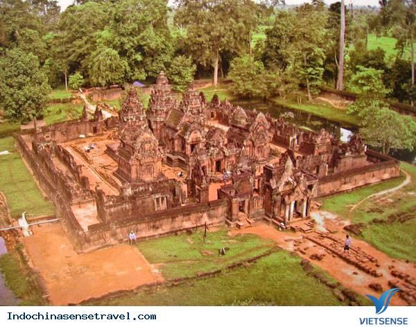 Đền thờ Banteay Srei,den tho banteay srei