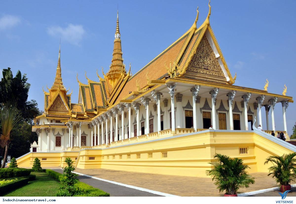 Hoàng Cung lộng lẫy của Campuchia,hoang cung long lay cua campuchia
