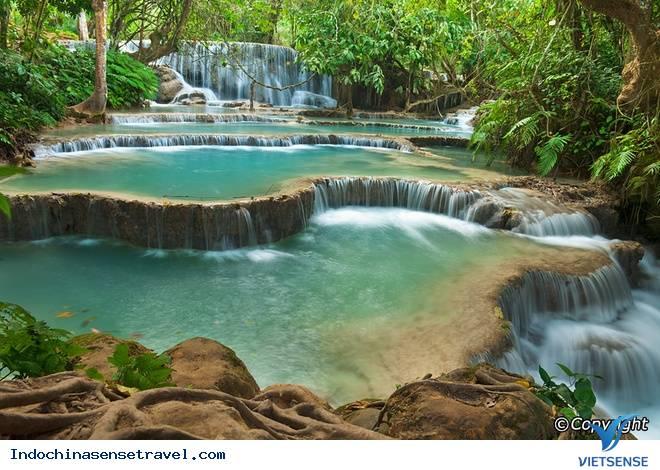 Khám phá vẻ đẹp thác nước đẹp nhất Luang Prabang,kham pha ve dep thac nuoc dep nhat luang prabang