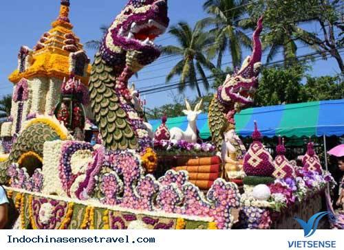 Lễ hội hoa đầy sắc màu tại Chiang Mai,le hoi hoa day sac mau tai chiang mai
