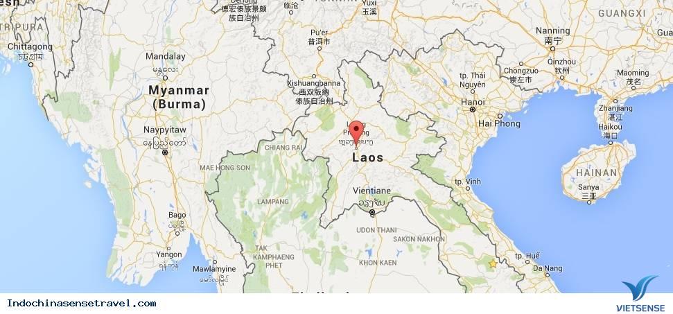 Luang Prabang - Luông Pha Băng miền Bắc Lào,luang prabang  luong pha bang mien bac lao