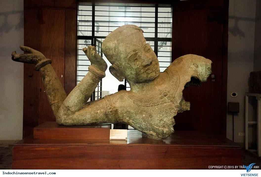 Tham quan bảo tàng quốc gia Phnôm Pênh ở Campuchia,tham quan bao tang quoc gia phnom penh o campuchia